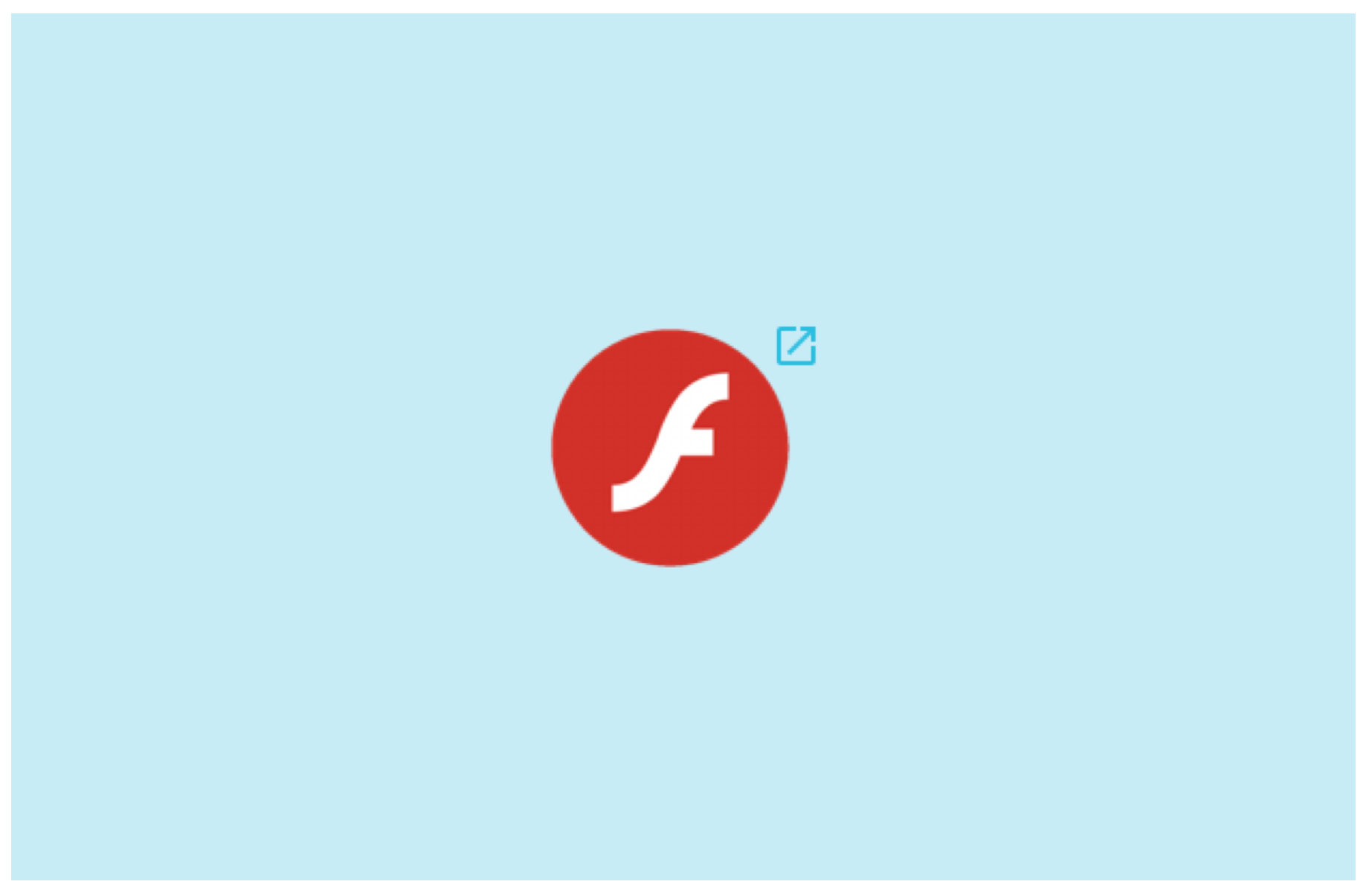 Adobe Flash content is not supported in SMART Notebook but